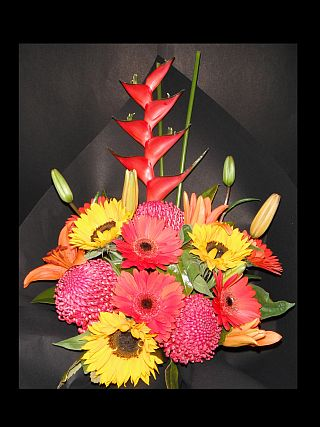 Bright and Tropical Bouquet