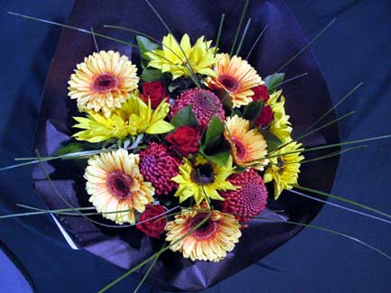 Large Dramatic Colourful Bouquet