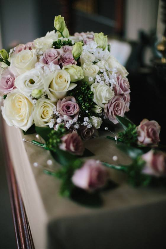 Wedding dusky pink and cream flower wholesalers takapuna wedding dusky pink and cream mightylinksfo